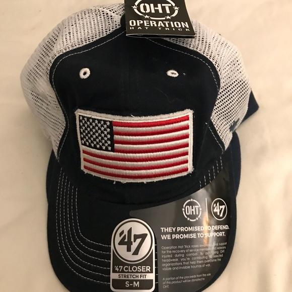 47 Brand USA Flag Flexfit Hat 8bec13287d0